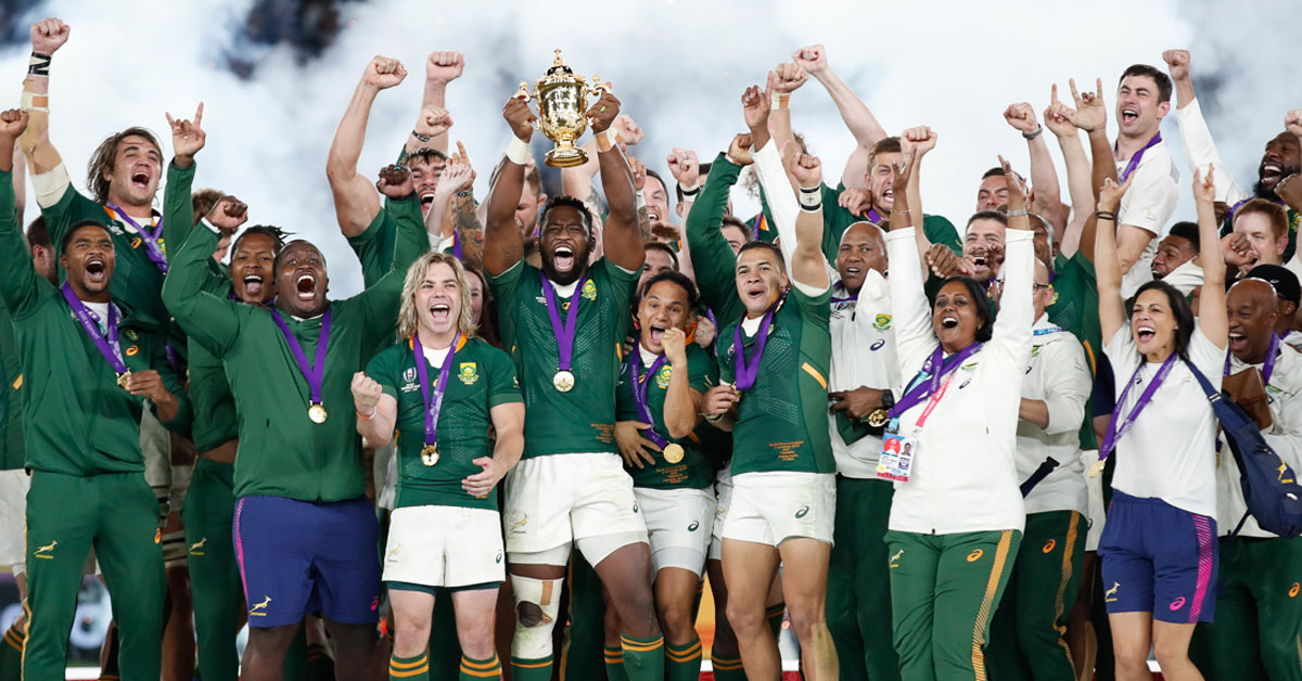 SA wins the Rugby World Cup